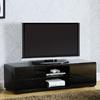 Furniture of America Cerro Black Rectangular Television Cabinet