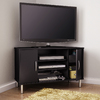 South Shore Furniture Renta Pure Black Corner Television Stand