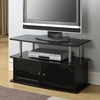 Convenience Concepts Designs2Go™ Black Rectangular Television Stand