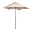 Zuo Modern South Bay Beige Market Patio Umbrella (Common: 7-ft W x 7-ft L; Actual: 7.38-ft W x 7.38-ft L)