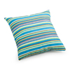 Zuo Modern Puppy Multicolor Stripe Square Throw Outdoor Decorative Pillow