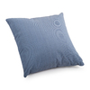 Zuo Modern Lizzy Country Blue Solid Square Throw Outdoor Decorative Pillow