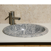 Allstone Meridian Granite Oval Bathroom Sink