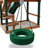 Gorilla Playsets Turbo Green Tire Swing