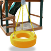 Gorilla Playsets Turbo Yellow Tire Swing