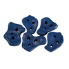 Gorilla Playsets 5-Piece Blue Climbing Rocks