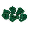 Gorilla Playsets 5-Piece Green Climbing Rocks