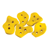 Gorilla Playsets 5-Piece Yellow Climbing Rocks