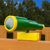 Gorilla Playsets Looney Green Telescope