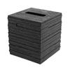 Nameeks Quadrotto Black Plastic Tissue Holder