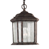 Sea Gull Lighting Kent 10.5-in Oxford Bronze Outdoor Pendant Light