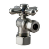 Westbrass Brushed Nickel Quarter Turn Angle Valve