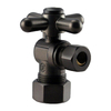 Westbrass Oil-Rubbed Bronze Quarter Turn Angle Valve