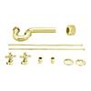 Westbrass 1-1/2-in Brass P-trap