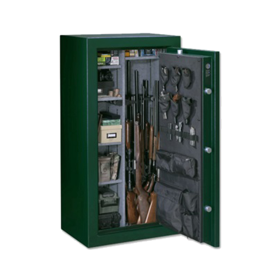 Zoom in stack on elite 24 gun combination lock fire resistant gun safe