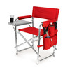 Picnic Time Red Aluminum Folding Camping Chair