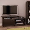 South Shore Furniture Step One Chocolate Rectangular Television Stand