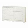 South Shore Furniture Summer Breeze Vanilla Cream 6-Drawer Dresser