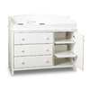 South Shore Furniture 47.5-in W Pure White Changing Table