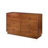 South Shore Furniture Logik Sunny Pine 6-Drawer Dresser