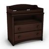 South Shore Furniture 35.5-in W Espresso Surface-Mount Changing Table