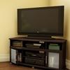 South Shore Furniture City Life Espresso Corner Corner Television Stand
