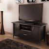 South Shore Furniture Chocolate Rectangular Television Cabinet