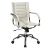 Office Star Ave Six Trinidad Cream Vinyl Task Office Chair