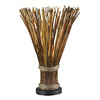 Kenroy Home Sheaf 25-in Natural Reed Novelty Table Lamp with Shade