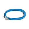 K Tool International 50-ft 13-Amp 110-Volt 3-Outlet Blue Outdoor Extension Cord with Built-in Circuit Breaker