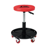 K Tool International Mechanics Padded Creeper Seat with Pneumatic Lift