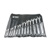 K Tool International 14-Piece Standard Polished Chrome Standard Wrench Set