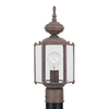 Sea Gull Lighting Classico 15.75-in H Sienna Post Light