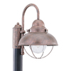 Sea Gull Lighting Sebring 15.75-in H Weathered Copper Post Light