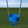 Gorilla Playsets Blue Toddler Swing