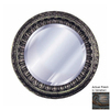 Hickory Manor House Ptolemy 35-in x 35-in Venetian Beveled Round Framed Wall Mirror