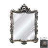 Hickory Manor House Arquette 29.5-in x 42-in Venetian Beveled Rectangle Framed Wall Mirror