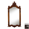 Hickory Manor House Royal 28-in x 52-in Brandywine Polished Rectangle Framed Wall Mirror