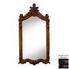 Hickory Manor House Royal 28-in x 52-in Napoleon Polished Rectangle Framed Wall Mirror