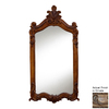 Hickory Manor House Royal 28-in x 52-in Ornate Polished Rectangle Framed Wall Mirror
