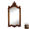 Hickory Manor House Royal 28-in x 52-in Rococo Polished Rectangle Framed Wall Mirror