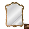 Hickory Manor House Phillippe 30.25-in x 41-in Bronze Beveled Arch Framed Wall Mirror