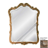 Hickory Manor House Phillippe 30.25-in x 41-in Ornate Beveled Arch Framed Wall Mirror