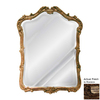 Hickory Manor House Phillippe 30.25-in x 41-in Rococo Beveled Arch Framed Wall Mirror