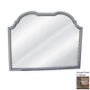 Hickory Manor House Double Top Buffet 43-in x 33.25-in Ornate Arch Framed Wall Mirror