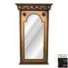 Hickory Manor House Sterling 25.5-in x 43.5-in Napoleon Polished Arch Framed Wall Mirror