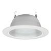Sea Gull Lighting White Baffle Recessed Light Trim (Fits Housing Diameter: 6-in)