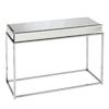 Boston Loft Furnishings Corina Mirror Chrome (Metal) Rectangular Console and Sofa Table