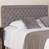 Best Selling Home Decor Bolton Grey Full/Queen Upholstered Headboard