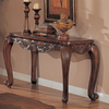 Coaster Fine Furniture Brown Rectangular Console and Sofa Table